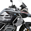 BSTI 3409 BMW R1250GS Adventure Ice Grey GS Lines Tank Stickers Silver Black 02