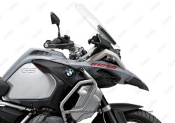 BSTI 3410 BMW R1250GS Adventure Ice Grey Front Fender R1250 Stickers Red