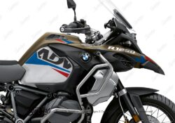 BKIT 3545 BMW R1250GS Adventure Style Exclusive Alive Red Blue Stickers Kit 02