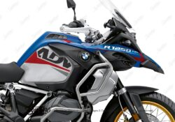 BKIT 3550 BMW R1250GS Adventure Style HP Alive Red Grey Stickers Kit 02