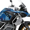 BKIT 3551 BMW R1250GS Adventure Style HP M90 Blue Camo Full Wrap 02