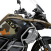 BKIT 3554 BMW R1250GS Adventure Style Exclusive M90 Green Orange Camo Side Tank Wrap 02