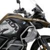 BKIT 3559 BMW R1250GS Adventure Style Exclusive Safari V2 Grey Black Stickers Kit 02