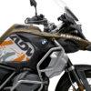 BKIT 3560 BMW R1250GS Adventure Style Exclusive Safari V2 Orange Black Stickers Kit 02