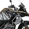 BKIT 3565 BMW R1250GS Adventure Style Exclusive Spike Grey Black Stickers Kit 02