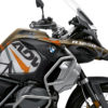 BKIT 3566 BMW R1250GS Adventure Style Exclusive Spike Orange Black Stickers Kit 02