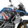 BKIT 3567 BMW R1250GS Adventure Style HP Spike Red Blue Stickers Kit 02
