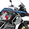 BKIT 3574 BMW R1250GS Adventure Style HP The Globe Red Grey Stickers Kit 02