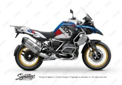 BKIT 3579 BMW R1250GS Adventure Style HP Vector Red Stickers Kit 01
