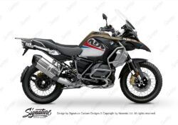 BKIT 3588 BMW R1250GS Adventure Style Exclusive Vivo Red Blue Stickers Kit 01