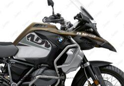 BKIT 3589 BMW R1250GS Adventure Style Exclusive Vivo Grey Black Stickers Kit 02