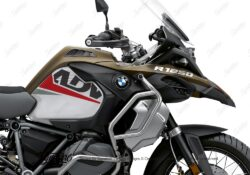 BKIT 3590 BMW R1250GS Adventure Style Exclusive Vivo Red Grey Stickers Kit 02