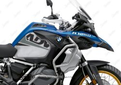 BKIT 3592 BMW R1250GS Adventure Style HP Vivo Grey Black Stickers Kit 02