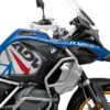 BKIT 3599 BMW R1250GS Adventure Style HP Spike Red Blue Side Tank Stickers Kit 02