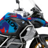 BKIT 3608 BMW R1250GS Adventure Style HP M90 Blue Red Camo Full Wrap 02
