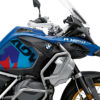BKIT 3609 BMW R1250GS Adventure Style HP M90 Blue Red Camo Side Tank Wrap 02