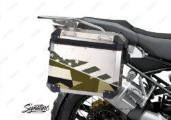 BSTI 3486 BMW R1250GS Adventure Pannier M90 Camo Military Stickers Kit 02