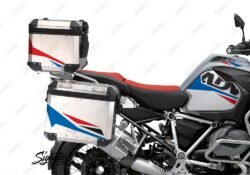 BSTI 3489 BMW R1250GS Adventure Top Box Alive Red Blue Stickers Kit 02