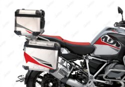 BSTI 3490 BMW R1250GS Adventure Top Box Alive Red Grey Stickers Kit 02