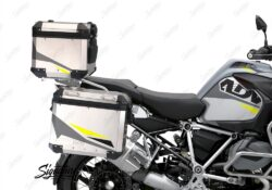 BSTI 3493 BMW R1250GS Adventure Top Box Alive Grey Fluo Yellow Stickers Kit 02