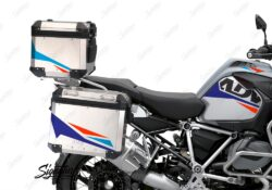 BSTI 3494 BMW R1250GS Adventure Top Box Alive Royal Blue Light Blue Fluo Red Stickers Kit 02