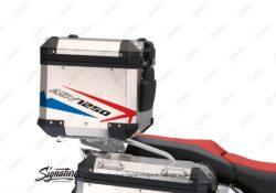 BSTI 3507 BMW R1250GS Adventure Top Box Spike Red Blue Stickers Kit 03