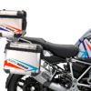 BSTI 3512 BMW R1250GS Adventure Top Box Spike Royal Blue Light Blue Fluo Red Stickers Kit 02