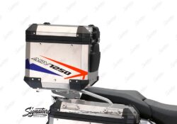 BSTI 3512 BMW R1250GS Adventure Top Box Spike Royal Blue Light Blue Fluo Red Stickers Kit 03