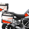 BSTI 3516 BMW R1250GS Adventure Top Box Vector Fluo Red Stickers Kit 02