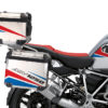 BSTI 3524 BMW R1250GS Adventure Top Box Vivo Red Blue Stickers Kit 02