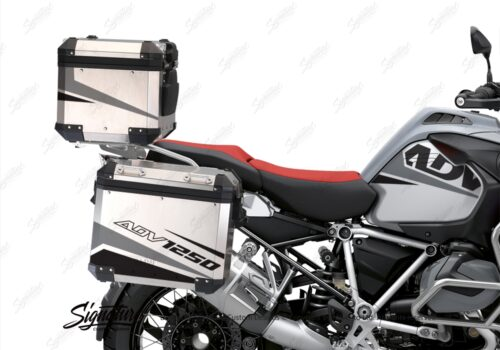BSTI 3526 BMW R1250GS Adventure Top Box Vivo Grey Black Stickers Kit 02