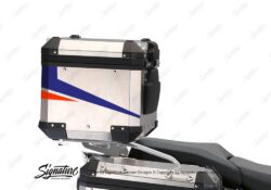 BSTI 3529 BMW R1250GS Adventure Top Box Vivo Royal Blue Light Blue Fluo Red Stickers Kit 03