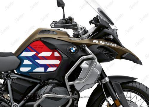 BSTI 3594 BMW R1250GS Adventure Style Ecxlusive Anniversary Limited Edition Tank Stickers Msport 02