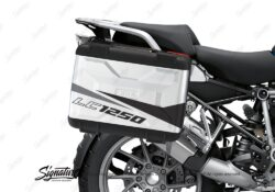 BSTI 3621 BMW R1250GS Vario Pannier Stingray Grey Black Stickers Kit 02