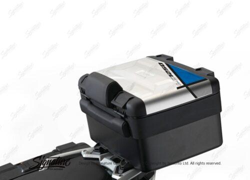 BSTI 3641 BMW R1250GS Vario Top Box Vector Blue Stickers Kit