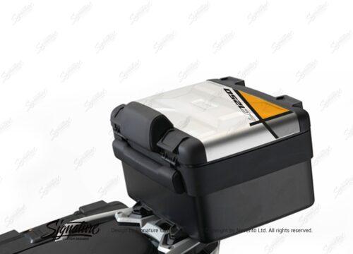 BSTI 3643 BMW R1250GS Vario Top Box Vector Yellow Stickers Kit