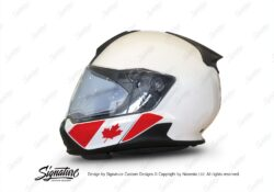 HEL 3445 BMW System 7 Light White The Flag Series Stickers Kit Canada