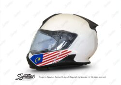 HEL 3445 BMW System 7 Light White The Flag Series Stickers Kit Malaysia