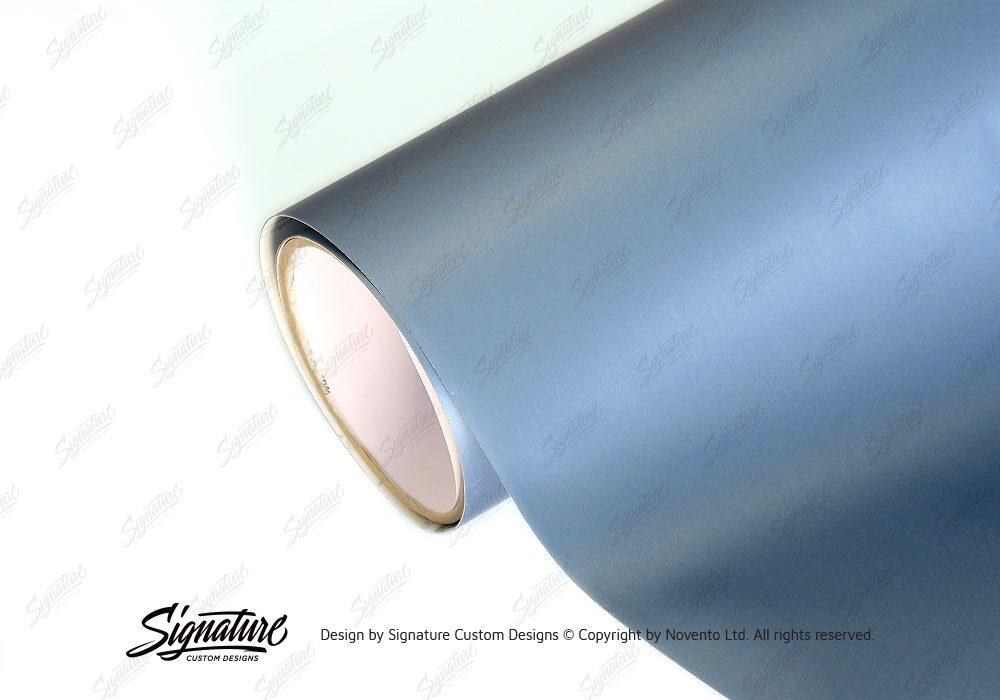 Light Blue Metallic Matte Vinyl