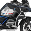 BKIT 3680 BMW R1200GS LC Adventure Ocean Blue HP Edition Side Tank Fender Stickers with Pyramid Frame Panniers Blue 02
