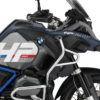 BKIT 3681 BMW R1200GS LC Adventure Ocean Blue HP Edition Side Tank Fender Stickers with Full Frame Panniers Blue 02