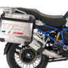 BKIT 3681 BMW R1200GS LC Adventure Ocean Blue HP Edition Side Tank Fender Stickers with Full Frame Panniers Blue 03