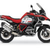 BKIT 3683 BMW R1200GS LC Adventure Racing Red HP Edition Side Tank Fender Stickers with Pyramid Frame Red 01