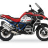 BKIT 3684 BMW R1200GS LC Adventure Racing Red HP Edition Side Tank Fender Stickers with Full Frame Blue 01
