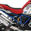 BKIT 3684 BMW R1200GS LC Adventure Racing Red HP Edition Side Tank Fender Stickers with Full Frame Blue 03
