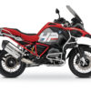 BKIT 3684 BMW R1200GS LC Adventure Racing Red HP Edition Side Tank Fender Stickers with Full Frame Red 01