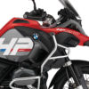 BKIT 3685 BMW R1200GS LC Adventure Racing Red HP Edition Side Tank Fender Stickers with Panniers 02