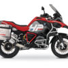 BKIT 3686 BMW R1200GS LC Adventure Racing Red HP Edition Side Tank Fender Stickers with Pyramid Frame Panniers Red 01