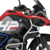 BKIT 3687 BMW R1200GS LC Adventure Racing Red HP Edition Side Tank Fender Stickers with Full Frame Panniers Blue 02