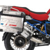 BKIT 3687 BMW R1200GS LC Adventure Racing Red HP Edition Side Tank Fender Stickers with Full Frame Panniers Blue 03